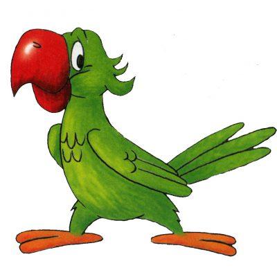 Картинка для детей попугай   Картинки Detki.today