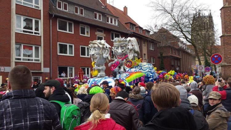 Rosenmontag 2017: El carnaval sale a la calle en Münster