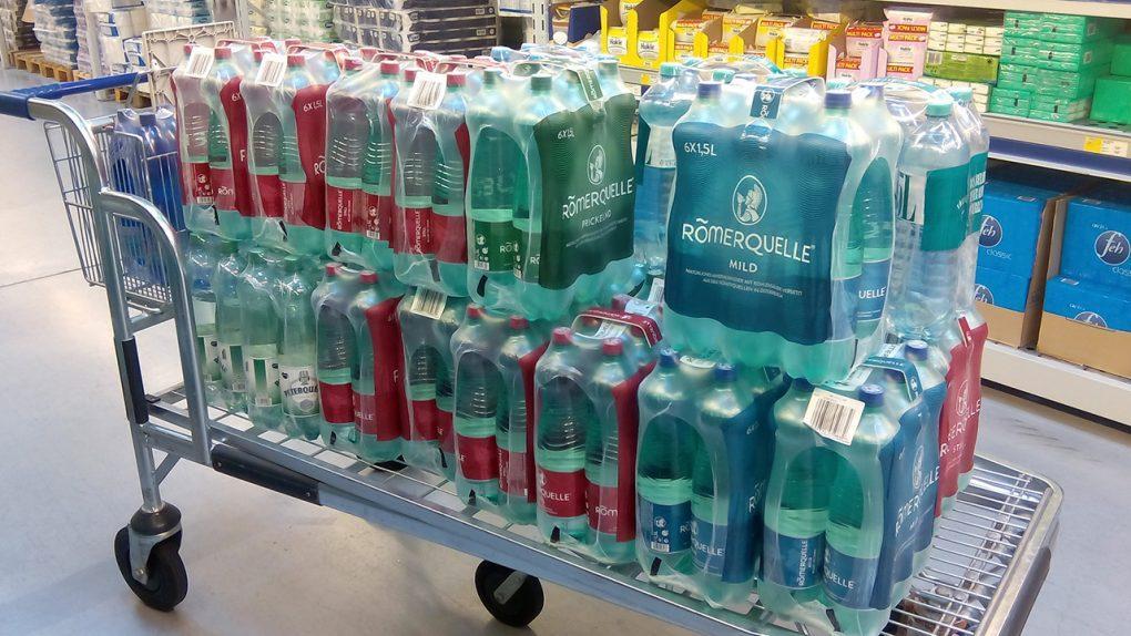 Diferencia#4: El agua mineral en Alemania: ¿Con o sin burbujas?