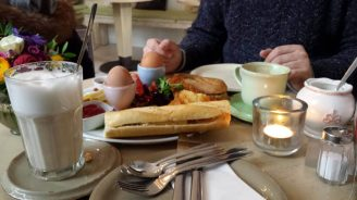 Frühstück en Le petit rêve