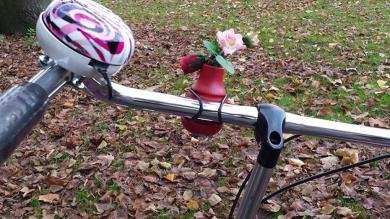 florero para bici