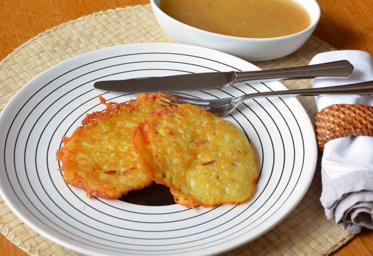 Receta de Kartoffelpuffer