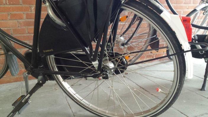 rueda decorada