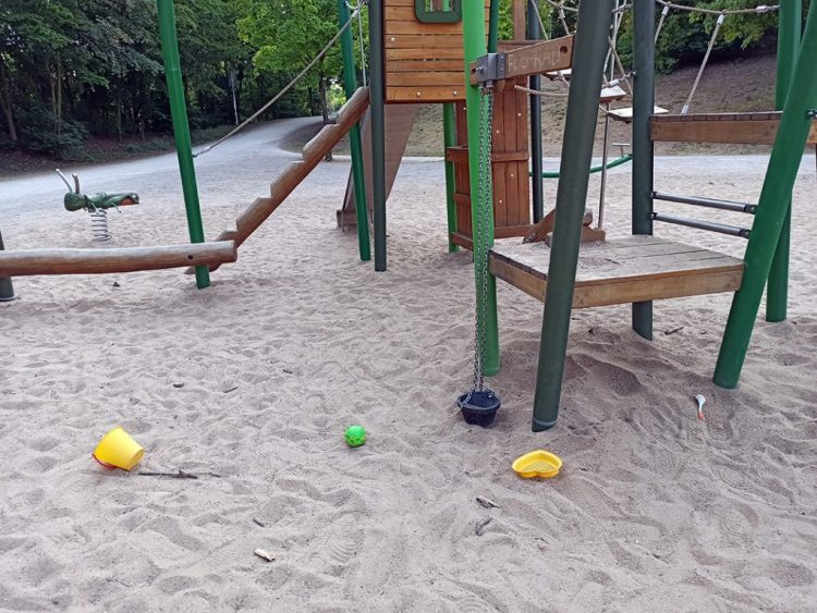 Los parques infantiles en Alemania (Spielplatz)