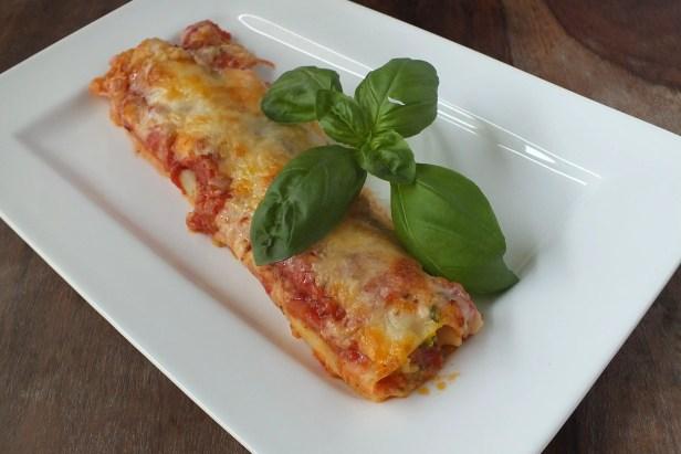 Kürbis-Kartoffel-Cannelloni