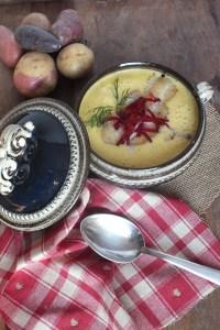 Kartoffel Wasabi Suppe