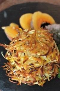 Kartoffel Kürbis Rösti