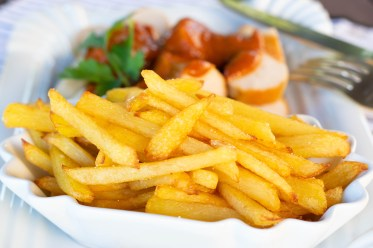 Pommes frites selbsgemacht