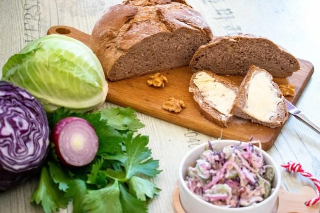 Kartoffel Roggen Brot