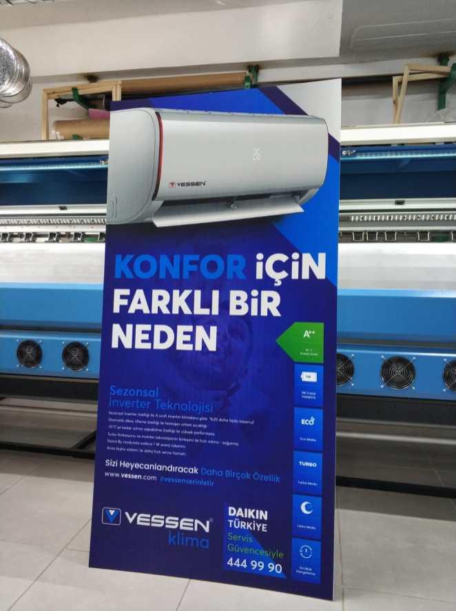 Karton ayaklı poster