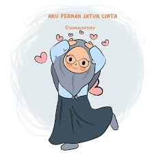 Kartun Muslimah Jatuh Cinta Pernah Jatuh Cinta