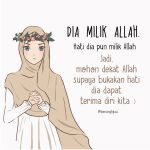 Kata-kata Muslimah tentang dia Milik Allah