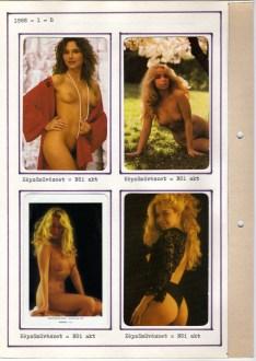 1988-as kártyanaptár-album - 002