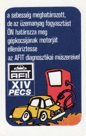 AFIT Autószervizek (Baranya, Somogy) - 1981