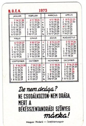 Békésszentandrási Szőnyeg (b) - 1973