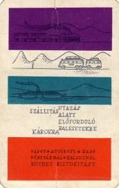 ÁB (Utazási biztosítás) - 1960