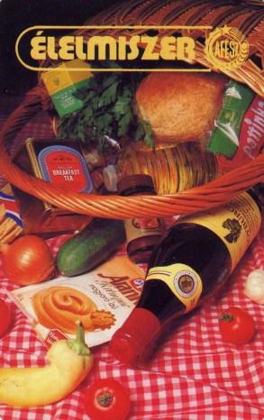 ÁFÉSZ - Élelmiszer - 1989