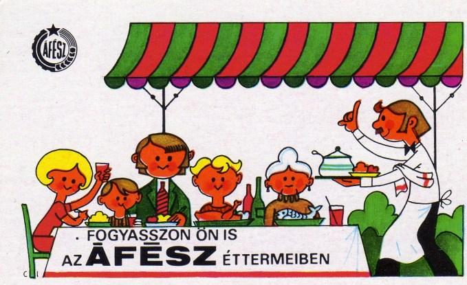 ÁFÉSZ - éttermek - 1976