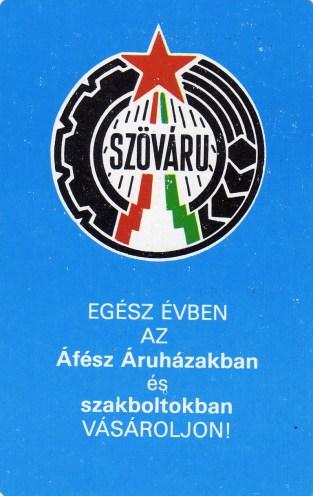 ÁFÉSZ - SZÖVÁRU - 1979