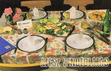 ÁFÉSZ Vendéglátás - 1984