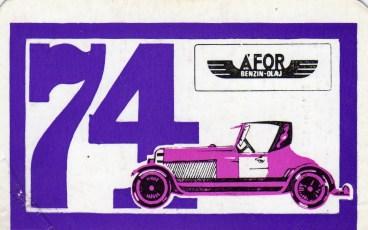ÁFOR - 1974