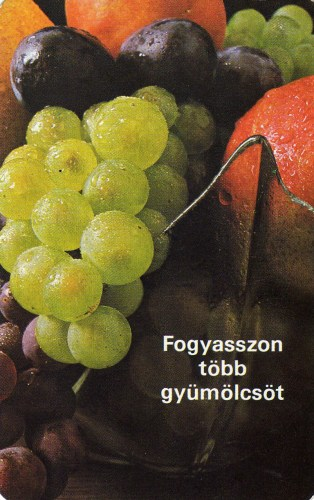 ÁGKER (Fogyasszon több gyümölcsöt) - 1984