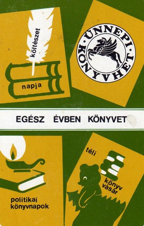 Állami Könyvterjesztő Vállalat (ünnepi könyvhét) - 1981