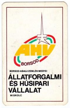 Állatforgalmi és Húsipari Vállalat (Miskolc) - 1979