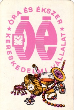 Óra és Ékszerkereskedelmi Vállalat - 1971