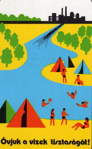 Óvjuk a vizek tisztaságát - 1976