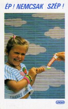 CAOLA (Elmex fogkrém) - 1988