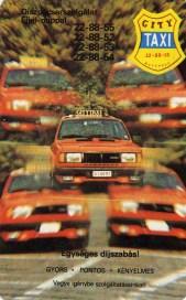 CITY TAXI (3 év) - 1986