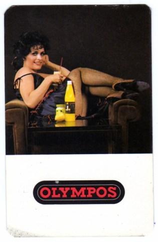 DÉLKER (OLYMPOS üdítőital) - 1982