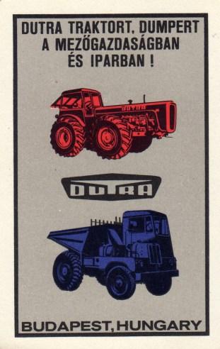 DUTRA (traktor és dumper) - 1970