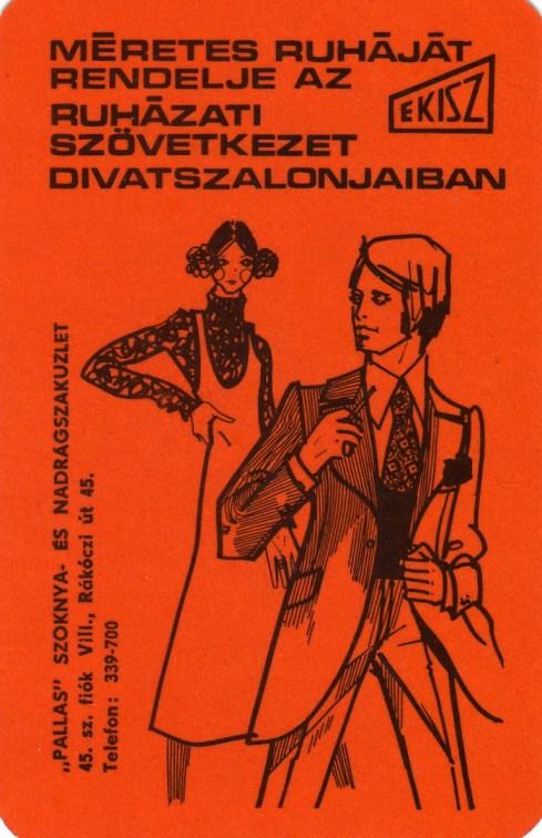EKISZ (ruha méretre) - 1973