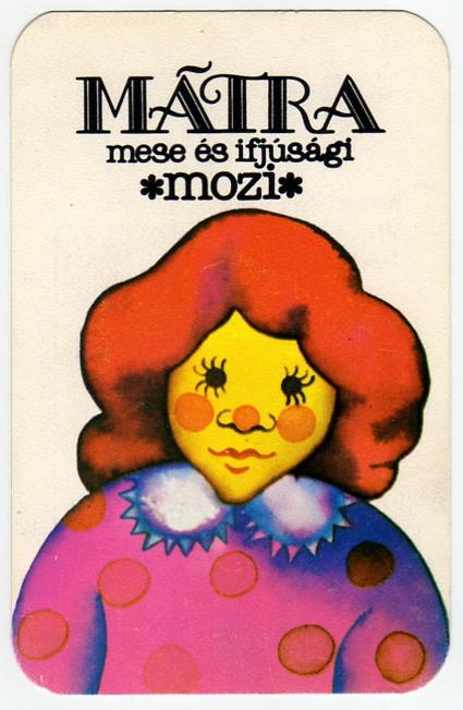 FŐMO - Mátra Mozi (Bp) - 1985