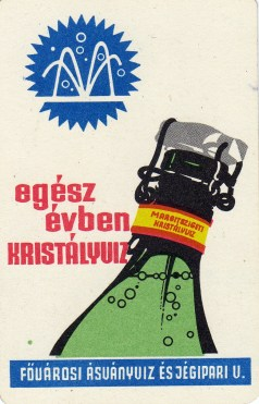 Fővárosi Ásványvíz és Jégipari Vállalat - 1969