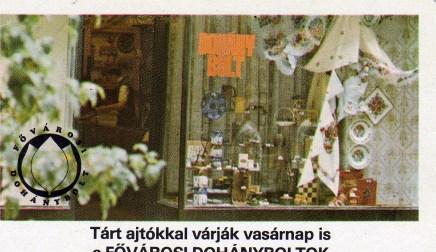 Fővárosi Dohányboltok - 1979