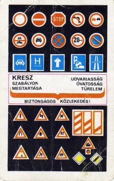 FKBT (Kresz szabályok) - 1972