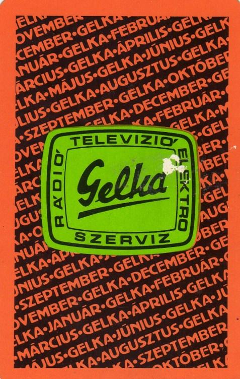 GELKA - 1981