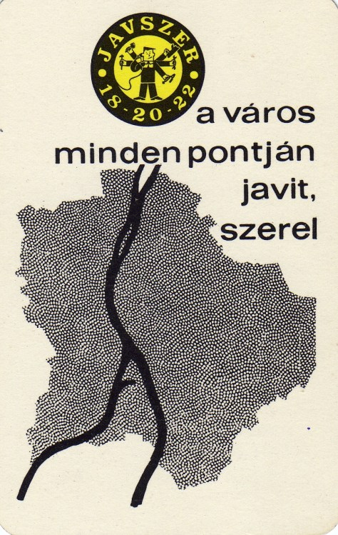 JAVSZER - Budapest - 1967