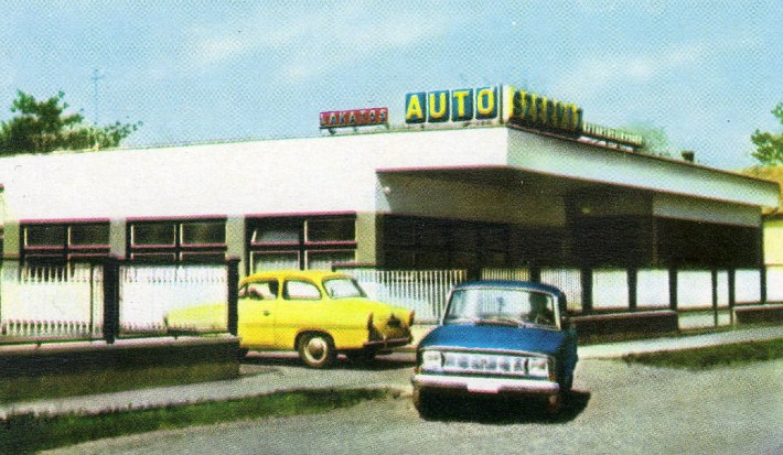 Jászladányi Vegyesipari KTSZ (Autószervíz) - 1972