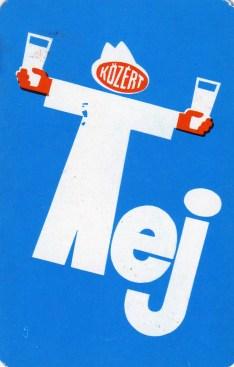 KÖZÉRT (Tej) - 1978