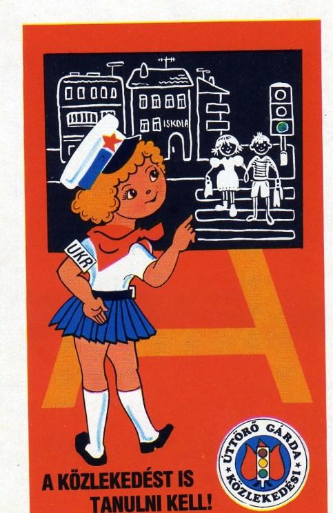 Közlekedési Úttörő Gárda - 1988