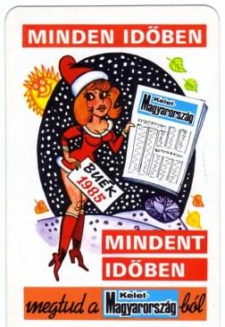 Kelet-Magyarország újság (Endrődi István) - 1985