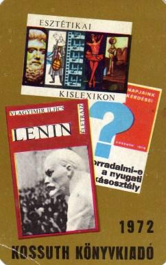 Kossuth Könyvkiadó - 1972