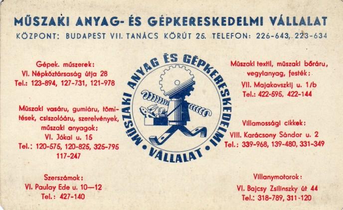 MAGÉV - 1967