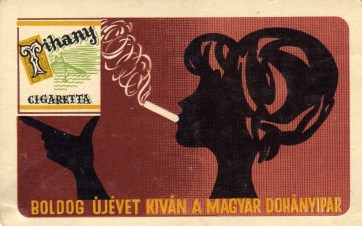 Magyar Dohányipar (Tihany cigaretta) - 1964