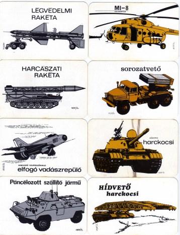 Magyar Néphadsereg - Haditechnika sorozat (1) - 1974