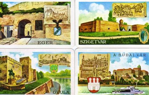 Magyar Néphadsereg - VÁRAK sorozat (2) - 1977
